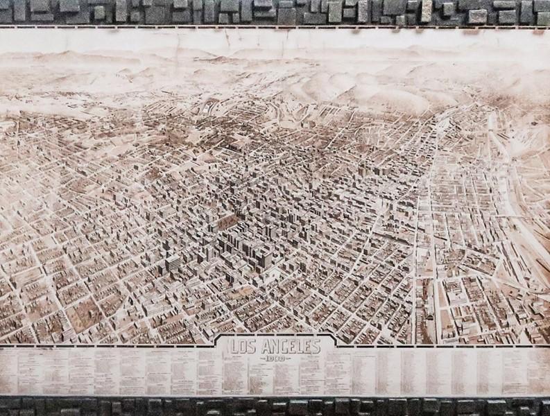 Mappe della città vecchia: Los Angeles